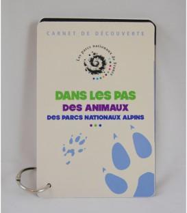 """Carnet """"Empreintes des animaux"""""""