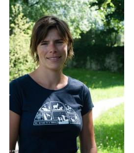 Tee-shirt femme BLEU