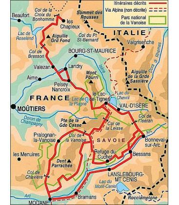 Topo Guide La Vanoise