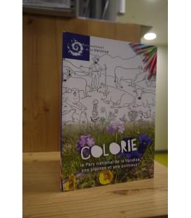 Carnet de coloriage du Parc national de la Vanoise